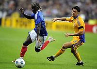 Fotball<br /> Frankrike<br /> Foto: DPPI/Digitalsport<br /> NORWAY ONLY<br /> <br /> FOOTBALL - FIFA WORLD CUP 2010 - QUALIFYING ROUND - GROUP 7 - FRANKRIKE v ROMANIA  - 5/09/2009<br /> <br /> BACARY SAGNA (FRA)