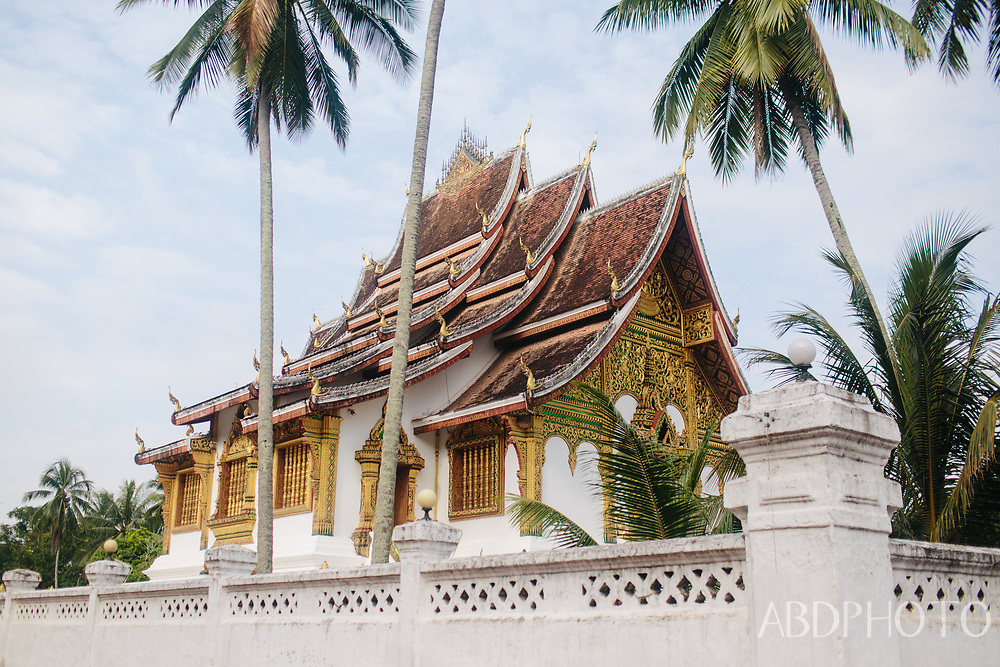 Luang Prabang Laos PDR Southeast Asia, Mekong River, French colonial architecture, hill tribe settlements and Buddhist monasteries