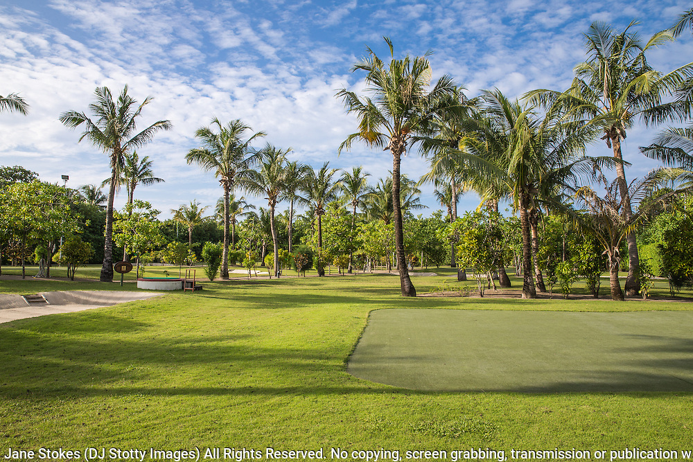 Kuredu Island Resort Golf Course n the Maldives<br /> <br /> Photo Jane Stokes