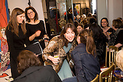 SAMANTHA CAMERON; SHEHERAZADE GOLDSMITH, The Launch of the Lanvin store on Mount St. Presentation and cocktails.  London. 26 March 2009
