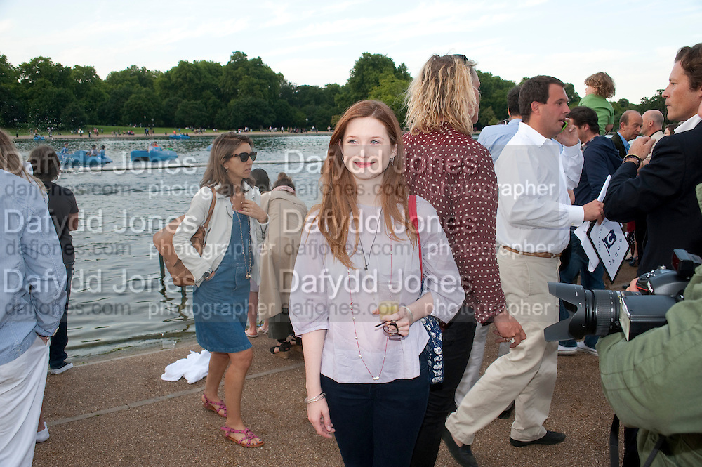 BONNIE WRIGHT, Chucs Dive & Mountain Shop charity Swim Party: Lido at The Serpentine. London. 4 July 2011. <br /> <br />  , -DO NOT ARCHIVE-© Copyright Photograph by Dafydd Jones. 248 Clapham Rd. London SW9 0PZ. Tel 0207 820 0771. www.dafjones.com.