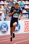 Paul Tritenne (FRA) competes in 200 Metres Men during the IAAF World U20 Championships 2018 at Tampere in Finland, Day 3, on July 12, 2018 - Photo Julien Crosnier / KMSP / ProSportsImages / DPPI