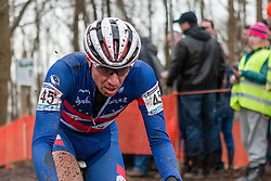 Jeremy Powers (USA), Men Elite, Cyclo-cross World Cup Hoogerheide, The Netherlands, 25 January 2015, Photo by Pim Nijland / PelotonPhotos.com
