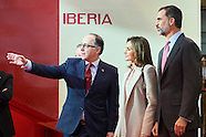 011817 Spanish Royals Attend Opening of Internacional Tourism Fair