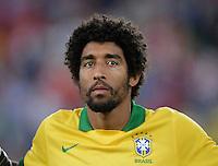 FUSSBALL  INTERNATIONAL  Testspiel Schweiz - Brasilien    14.08.2013 DANTE (Brasilien)