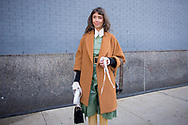 Thania Peck at NYFW Day 1