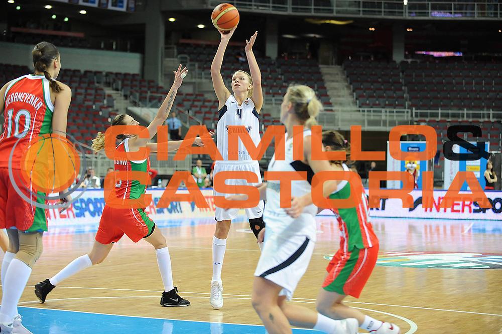 DESCRIZIONE : Riga Latvia Lettonia Eurobasket Women 2009 Quarter Final Slovacchia Bielorussia Slovak Republic Belarus <br /> GIOCATORE : Romana Vynuchalova<br /> SQUADRA : Slovacchia Slovak Republic<br /> EVENTO : Eurobasket Women 2009 Campionati Europei Donne 2009 <br /> GARA : Slovacchia Bielorussia Slovak Republic Belarus <br /> DATA : 17/06/2009 <br /> CATEGORIA : tiro<br /> SPORT : Pallacanestro <br /> AUTORE : Agenzia Ciamillo-Castoria/M.Marchi<br /> Galleria : Eurobasket Women 2009 <br /> Fotonotizia : Riga Latvia Lettonia Eurobasket Women 2009 Quarter Final Slovacchia Bielorussia Slovak Republic Belarus <br /> Predefinita :