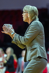 NORMAL, IL - January 03: Vicki Hall during a college women's basketball game between the ISU Redbirds and the Sycamores of Indiana State January 03 2020 at Redbird Arena in Normal, IL. (Photo by Alan Look)
