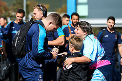Jack Singleton of Worcester Warriors arrives at Sandy Park for the Premiership fixture against Exeter Chiefs - Mandatory by-line: Robbie Stephenson/JMP - 29/09/2018 - RUGBY - Sandy Park Stadium - Exeter, England - Exeter Chiefs v Worcester Warriors - Gallagher Premiership Rugby
