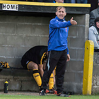 Picture by Christian Cooksey/CookseyPix.com.<br /> All rights reserved. For full terms and conditions see www.cookseypix.com<br /> <br /> Juniors - Auchinleck Talbot v Glenafton Athletic. Auchinleck's manager Tommy Sloan