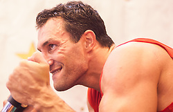 16.04.2013, Stanglwirt, Going, AUT, Wladimir Klitschko, Training, Schwergewichts Champion Wladimir Klitschko bereitet sich beim Stanglwirt im Tiroler Going auf seinen Kampf am 04. Mai 2013 in der SAP Arena, Mannheim, gegen seinen Herausforderer den Deutsch-Italiener Francesco Pianeta vor. Im Bild Wladimir Klitschko // Wladimir Klitschko during a training session of the Heavyweight champion Wladimir Klitschko for preparation to his fight at 04 May 2013 at the SAP Arena, Mannheim, against his challenger, the German-Italian Francesco Pianeta at the Hotel Stanglwirt, Going, Austria on 2013/04/16. EXPA Pictures © 2013, PhotoCredit: EXPA/ Juergen Feichter