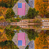 Abandoned Old Stone Church in West Boylston of Central Massachusetts reflecting in the Wachusetts Reservoir on a beautiful autumn evening. The surrounding New England fall foliage beautifully framed this historic landmark. <br /> <br /> Old Stone Church Massachusetts photos are available as museum quality photo, canvas, acrylic, wood or metal prints. Wall art prints may be framed and matted to the individual liking and interior design decoration needs:<br /> <br /> https://juergen-roth.pixels.com/featured/massachusetts-fall-foliage-at-the-old-stone-church-juergen-roth.html<br /> <br /> Good light and happy photo making!<br /> <br /> My best,<br /> <br /> Juergen<br /> Photo Prints: http://www.rothgalleries.com<br /> Photo Blog: http://whereintheworldisjuergen.blogspot.com<br /> Instagram: https://www.instagram.com/rothgalleries<br /> Twitter: https://twitter.com/naturefineart<br /> Facebook: https://www.facebook.com/naturefineart