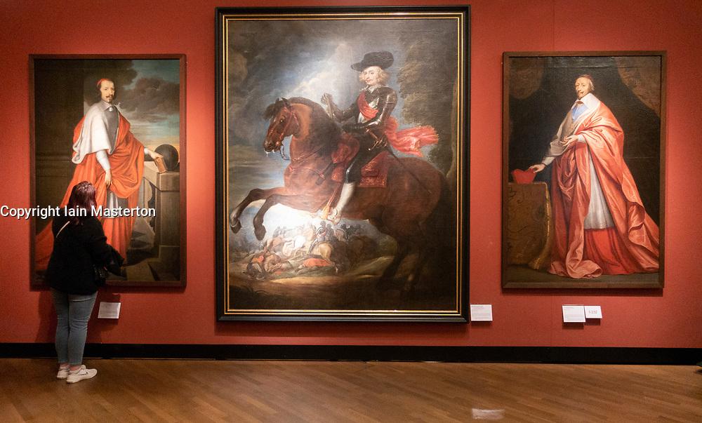 Don Ferdinand of Spain on Horseback by Peter Paul Rubens at the German History Museum in Berlin, Germany
