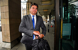 © London News Pictures. FILE PICTURE: 08/06/2016. London, UK. DOMINIC CHAPPELL arrives at Portcullis House in London to give evidence to a Business, Innovation and Skills Committee about the collapse of British Homes Stores. A report by MP's in to the sale of BHS is due to be released today (Mon). Photo credit: Ben Cawthra/LNP