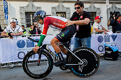 OLIVEIRA Nelson of Portugal during the Men Elite Individual Time Trial a 52.5km race from Rattenberg to Innsbruck 582m at the 91st UCI Road World Championships 2018 / ITT / RWC / on September 26, 2018 in Innsbruck , Austria.Photo by Vid Ponikvar / Sportida