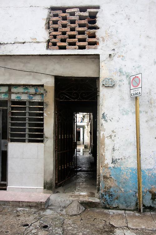 Door in Havana Centro, Cuba.