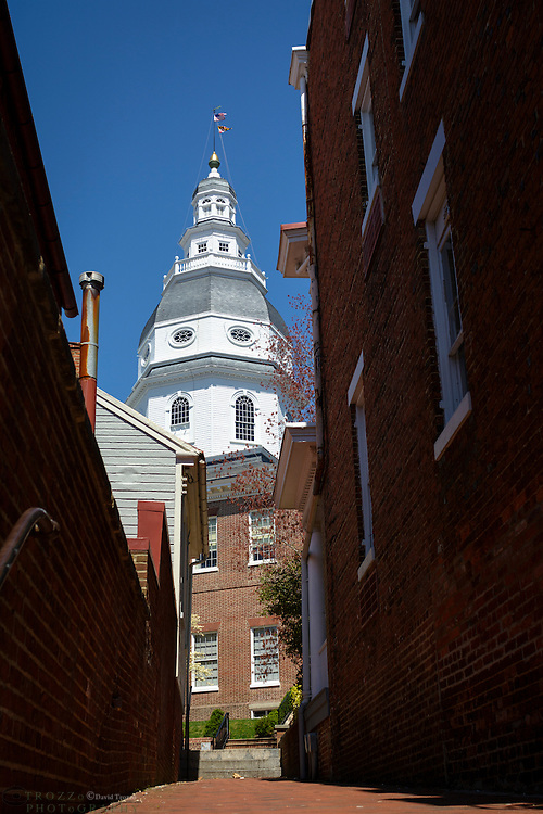 Maryland State House, Annapolis, Maryland.