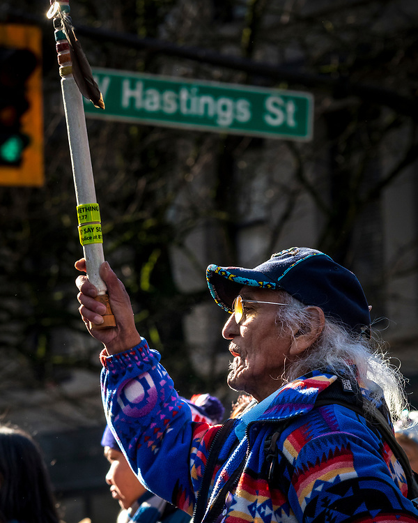 Thousands of people take to the streets in Vancouver's Downtown Eastside Women's Memorial March, which remembers First Nations women and girls that have been murdered or gone missing.