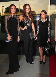 Made In Chelsea stars Lucy Watson, Binky Felstead and Louise Thompson attend the TV Choice Awards 2014 held at London Hilton, London, UK. 08/09/2014<br />BYLINE MUST READ : JAMESY/GOTCHA IMAGES<br /><br />Copyright by © Gotcha Images Ltd. All rights reserved.<br />Usage of this image is conditional upon the acceptance <br />of Gotcha Images Ltd, terms and conditions available at<br />www.gotchaimages.com