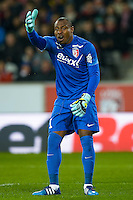 Vincent Enyeama - 15.03.2015 - Lille / Rennes - 29e journee Ligue 1<br /> Photo : Andre Ferreira / Icon Sport