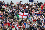 England fans during the Royal London 1 Day International match between England and New Zealand at Edgbaston, Birmingham, United Kingdom on 9 June 2015. Photo by Shane Healey.