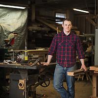 Arc Arts Furniture owner Adam Brandt