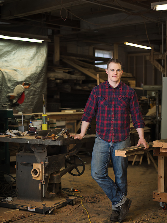 Arc Arts Furniture owner Adam Brandt