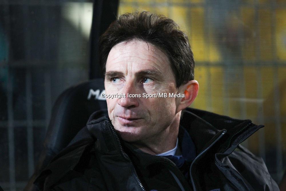 Serge LE DIZET  - 26.01.2015 - Angers / Brest - 21eme journee de Ligue 2 -<br /> Photo : Vincent Michel / Icon Sport