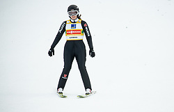 Anna Rupprecht of Germany during Team Competition at Day 2 of World Cup Ski Jumping Ladies Ljubno 2019, on February 9, 2019 in Ljubno ob Savinji, Slovenia. Photo by Matic Ritonja / Sportida
