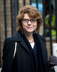 Southwark Crown Court.  Vicky Pryce, ex wife of Chris Huhne arriving at court this morning, London, UK, 18 February, 2013. Photo by: i-Images