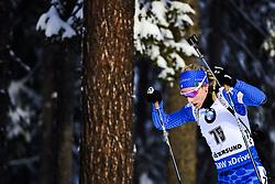 March 8, 2019 - –Stersund, Sweden - 190308 Federica Sanfilippo of Italy competes in the Women's 7.5 KM sprint during the IBU World Championships Biathlon on March 8, 2019 in Östersund..Photo: Johan Axelsson / BILDBYRÃ…N / Cop 245 (Credit Image: © Johan Axelsson/Bildbyran via ZUMA Press)