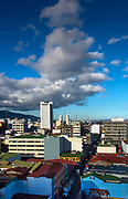 Costa Rica's capital city San Jose sits in the Central Valley surrounded by the Cordillera Central mountain range.  San Jose is Costa Rica's largest city and is home to the country's  best modern and colonial architecture, and cultural landmarks.