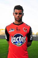 Hugo Boumous - 17.09.2014 - Photo officielle Laval - Ligue 2 2014/2015<br /> Photo : Philippe Le Brech / Icon Sport