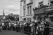 JEREMY CORBIN, ROYAL COUNTY HOTEL, , The Durham Miners Gala, Durham. 13 July 2019