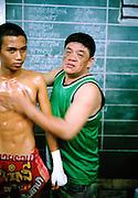 Muay Thai boxing at Lumpini Statium