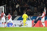 Goal Edinson Cavani - 04.03.2015 - PSG / Monaco - 1/4Finale Coupe de France<br /> Photo : Andre Ferreira / Icon Sport