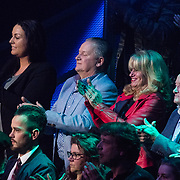 NLD/Hilversum/20180216 - Finale The voice of Holland 2018, ouders Samantha Steenwijk en haar partner