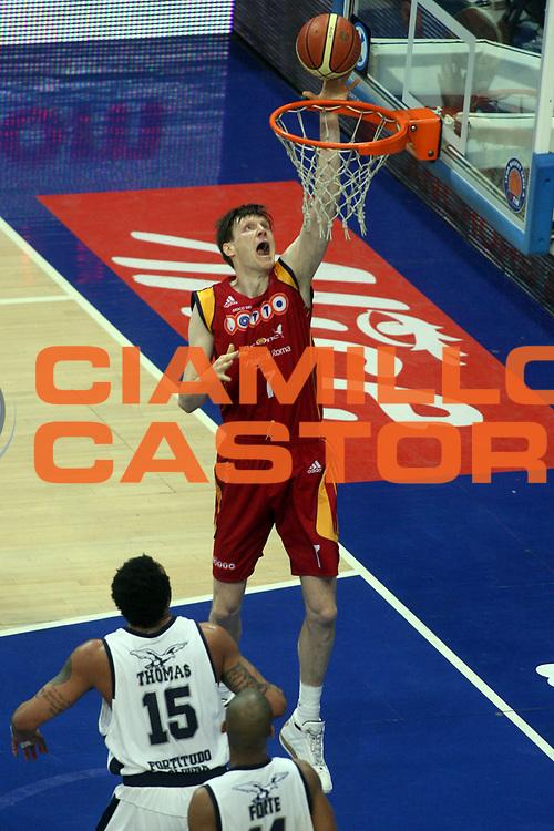 DESCRIZIONE : Bologna Lega A1 2007-08 Upim Fortitudo Bologna Lottomatica Roma<br />GIOCATORE : Gregor Fucka<br />SQUADRA : Lottomatica Roma<br />EVENTO : Campionato Lega A1 2007-2008 <br />GARA : Upim Fortitudo Bologna Lottomatica Roma<br />DATA : 30/03/2008 <br />CATEGORIA : Tiro<br />SPORT : Pallacanestro <br />AUTORE : Agenzia Ciamillo-Castoria/G.Ciamillo<br />Galleria : Lega Basket A1 2007-2008 <br />Fotonotizia : Bologna Campionato Italiano Lega A1 2007-2008 Upim Fortitudo Bologna Lottomatica Virtus Roma <br />Predefinita :