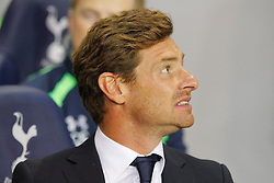 29.08.2013, White Hart Lane, London, ENG, UEFA CL Qualifikation, Tottenham Hotspur vs FC Dinamo Tiflis, Rueckspiel, im Bild Andre Villas-Boas during the UEFA Europa League Qualifier second leg match between Tottenham Hotspur and FC Dinamo Tiflis Zuerich at the White Hart Lane in London, England on 2013/08/29 . EXPA Pictures © 2013, PhotoCredit: EXPA/ Mitchell Gunn <br /> <br /> ***** ATTENTION - OUT OF GBR *****