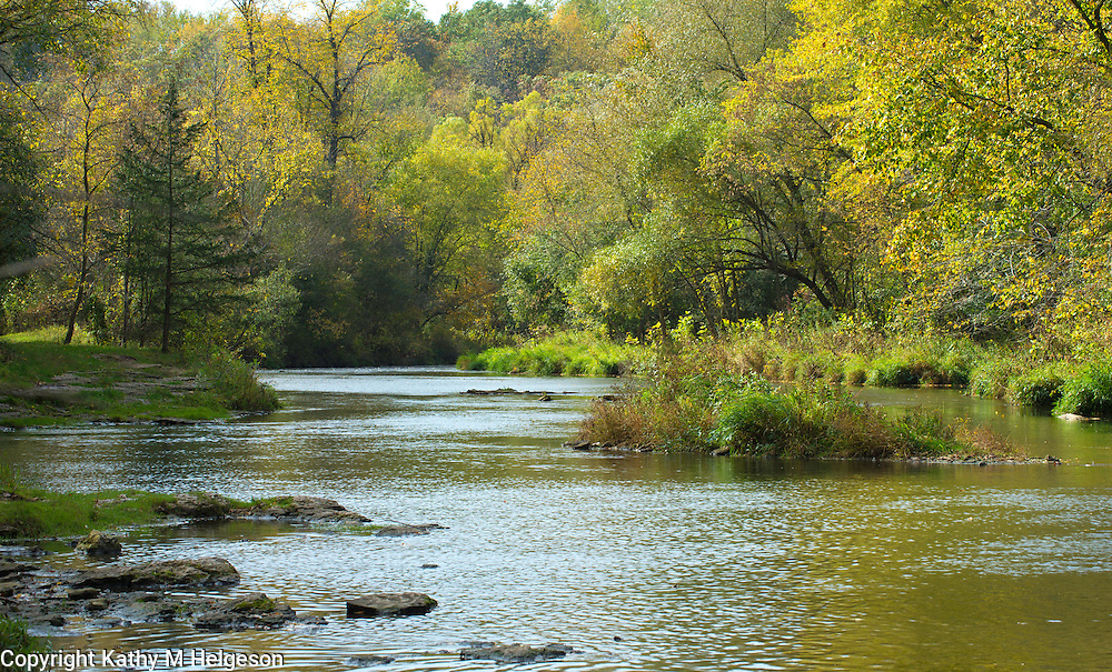 River Falls, Wisconsin in the Fall 2013<br /> <br /> Photo by Kathy M Helgeson
