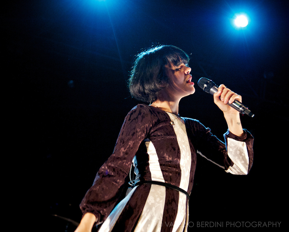 Bat For Lashes at the London HMV Forum on 30th of October 2012