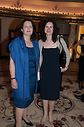 ARABELLA VAN NIEKERK; FRANCES MILNER, The Foreign Sisters lunch sponsored by Avakian in aid of Cancer Research UK. The Dorchester. 15 May 2012