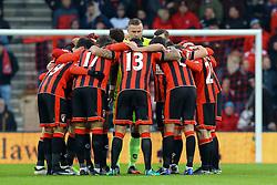 Bournemouth team talk prior to the match - Mandatory by-line: Jason Brown/JMP - 21/01/2017 - FOOTBALL - Vitality Stadium - Bournemouth, England - Bournemouth v Watford - Premier League