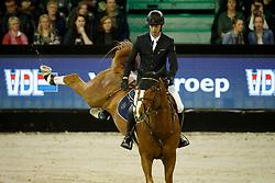 Smolders Harrie, NED, Emerald<br /> The Dutch Masters<br /> Indoor Brabant - 's Hertogen bosch 2018<br /> © Hippo Foto - Dirk Caremans<br /> 09/03/2018