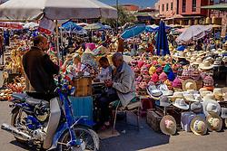 General view of a market square in Marrakech, Morocco, North Africa<br /> <br /> (c) Andrew Wilson | Edinburgh Elite media