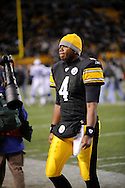 Byron Leftwich of the PIttsburgh Steelers during a 24-20 loss to Indianapolis on Sunday, Nov. 9, 2008 in Pittsburgh.