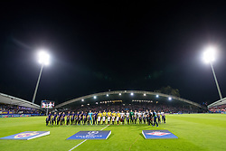 Players and general view of the field during group E football match between NK Maribor and Spartak Moscow in 1st Round of UEFA Champions League, on Septebmer 13, 2017 in Ljudski vrt, Ljubljana, Slovenia. Photo by Morgan Kristan / Sportida
