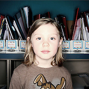 Sara Chirrick. Casey Brennan's kindergarten class at Hopkins Elementary School in Sherwood on Wednesday, May 23, 2012.