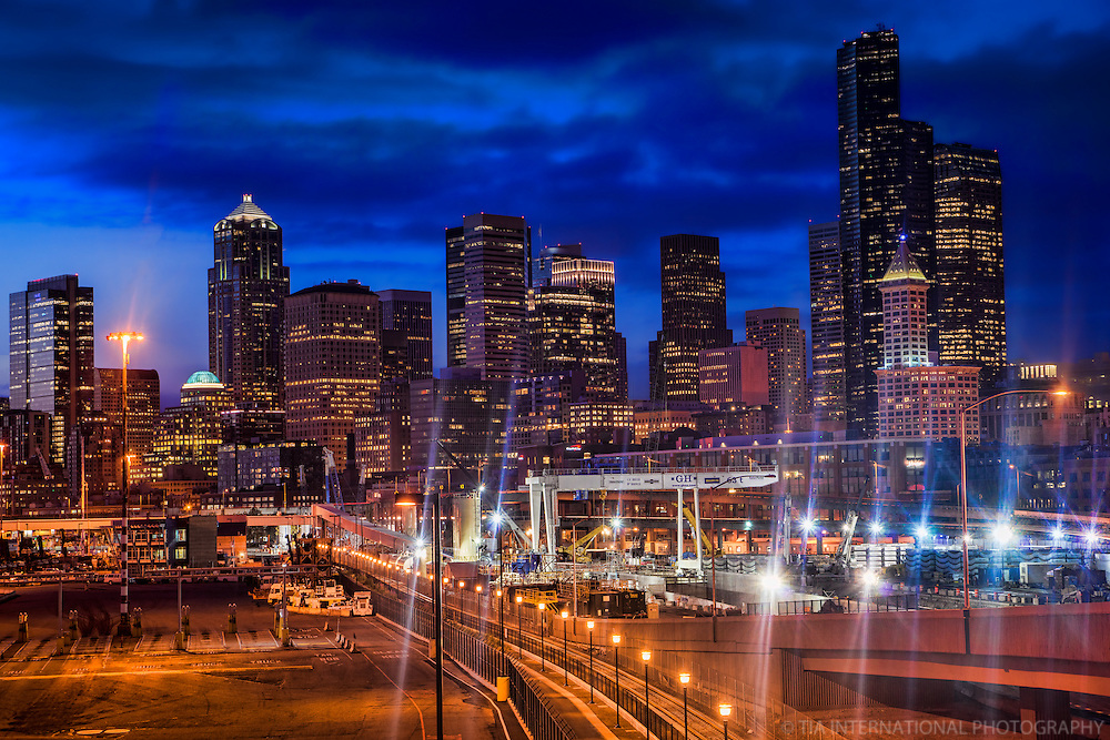 Downtown Seattle @ Dusk