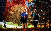 Enjoying fall color on the UK campus on Tuesday  October 16 , 2012 in Lexington, Ky . Photos  by Mark Cornelison